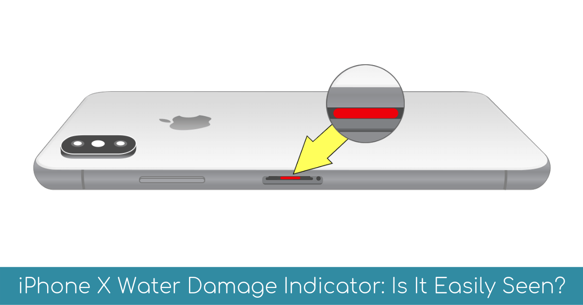 Iphone X Water Damage Indicator Is It Easily Seen Itechpursuits